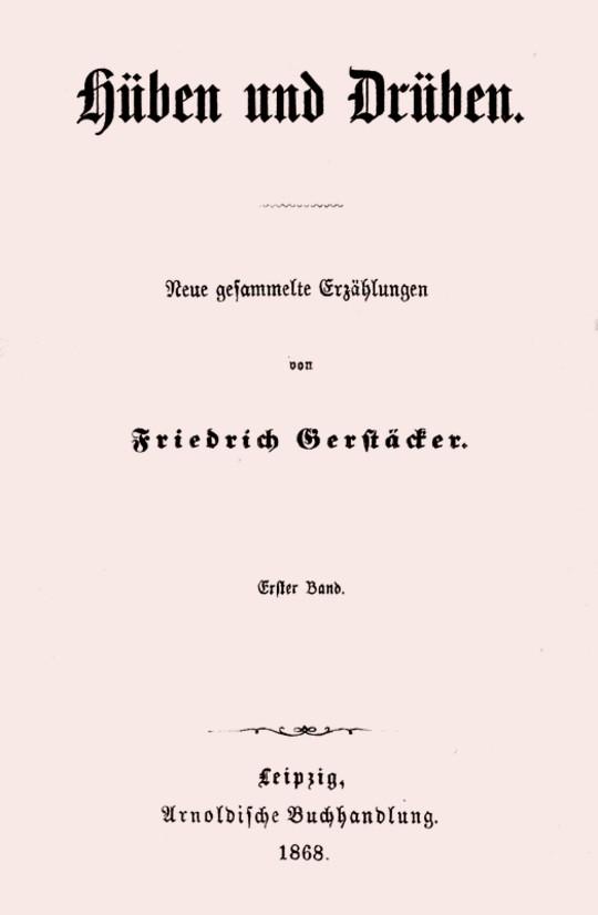 Hüben und Drüben; Erster Band (1/3) Neue gesammelte Erzählungen