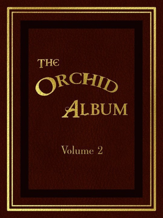 The Orchid Album, Volume 2 comprising coloured figures and descriptions of new, rare, and beautiful Orchidaceous Plants
