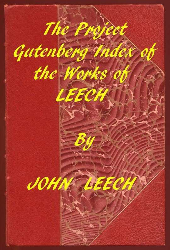 Index of the Project Gutenberg Works of John Leech