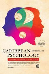Caribbean Journal of Psychology, Volume 10:2