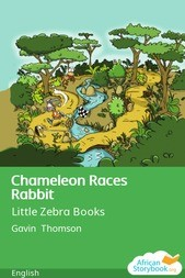 Chameleon Races Rabbit