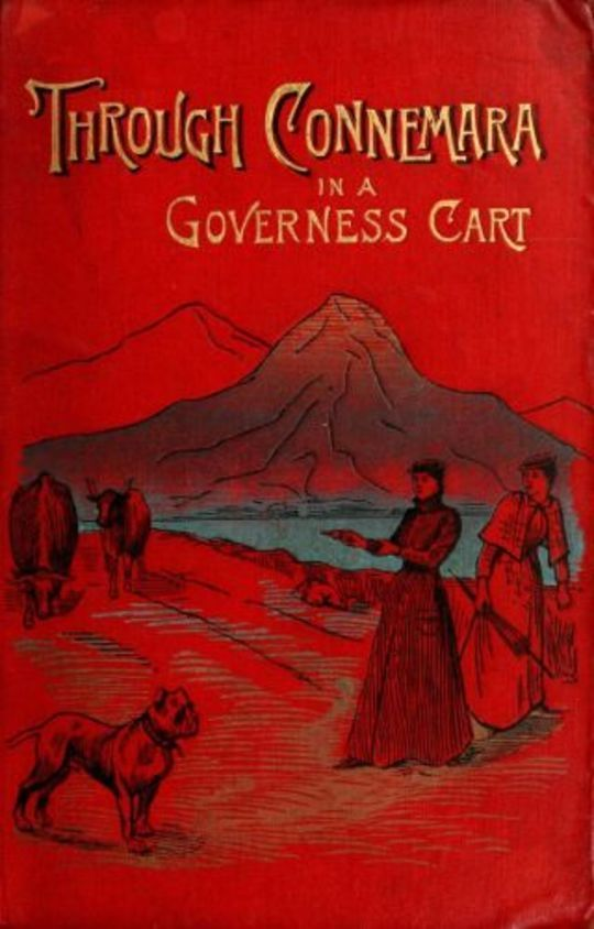Through Connemara in a governess cart