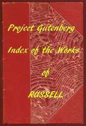 Index of the Project Gutenberg Works of Bertrand Russell