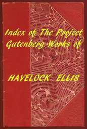 Index of the Project Gutenberg Works of Havelock Ellis