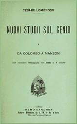 Nuovi studii sul genio vol. I (da Colombo a Manzoni)