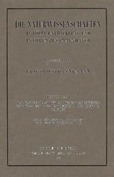 Die Naturwissenschaften in ihrer Entwicklung und in ihrem Zusammenhange, IV. Vierter Band: Das Emporblühen der modernen Naturwissenschaften seit der Entdeckung des Energieprinzips