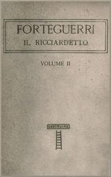 Il Ricciardetto, vol. II