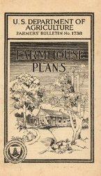 USDA Farmers' Bulletin No. 1738: Farmhouse Plans