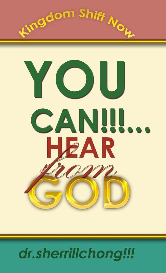 YOU CAN...Hear From God