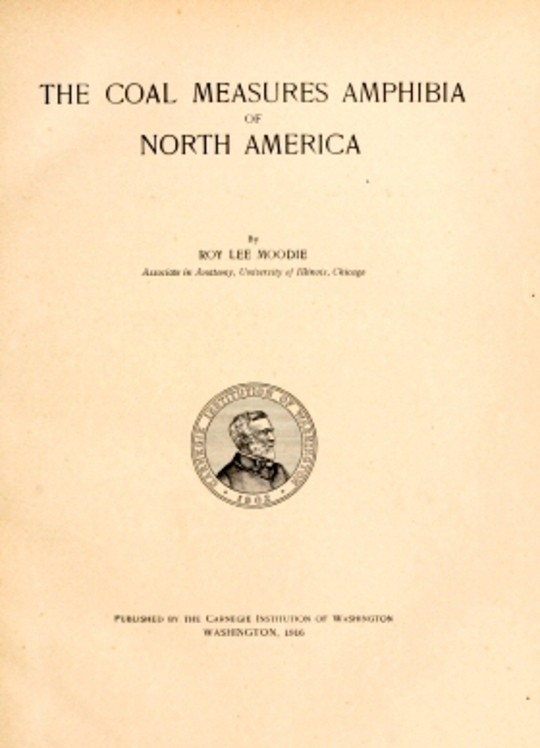 The Coal Measures Amphibia of North America