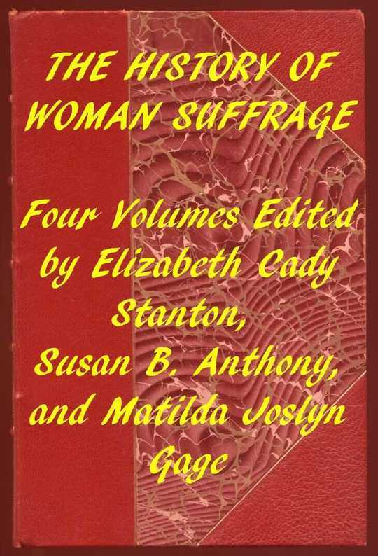 Index of the Project Gutenberg Works on Women's Suffrang