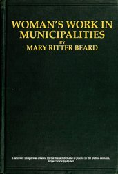 Woman's work in municipalities