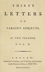 Thirty Letters on Various Subjects, Vol. II (of 2)