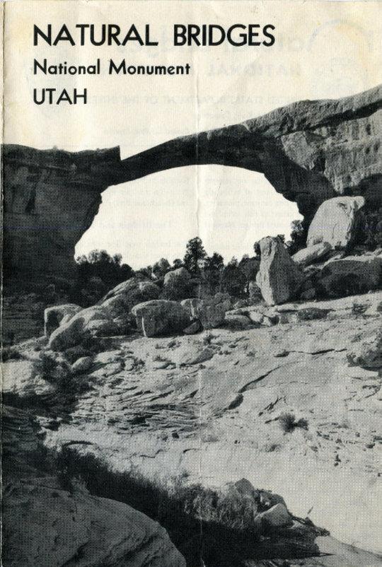 Natural Bridges National Monument (1954)