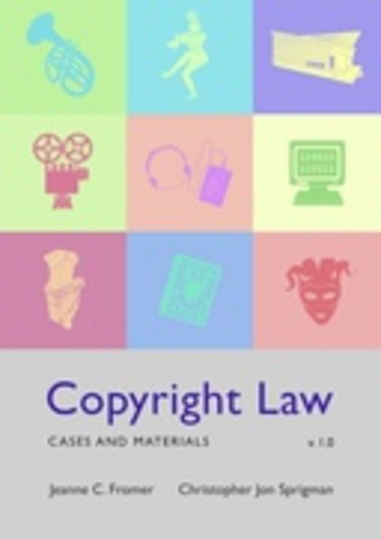 Copyright Law: Cases and Materials