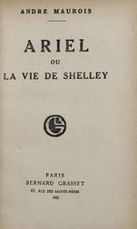 Ariel: ou, La vie de Shelley