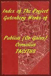 Index of the Project Gutenberg Works of Cornelius Tacitus