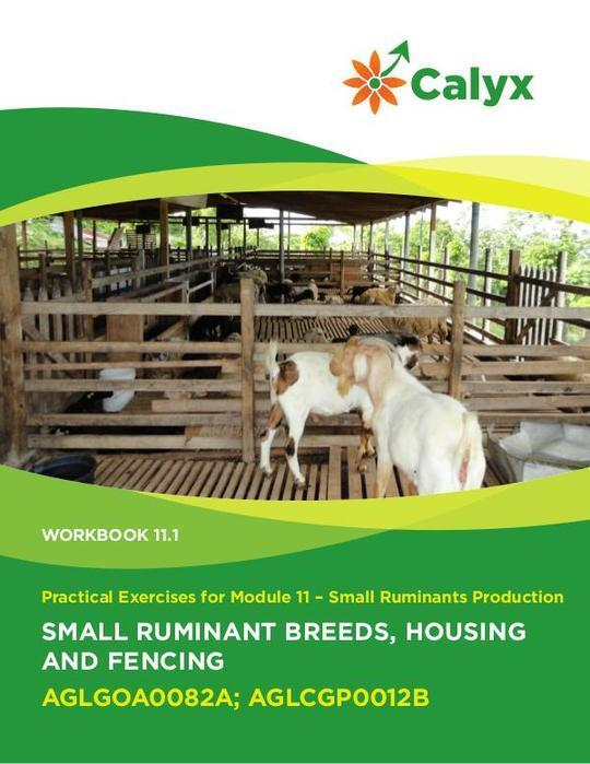 Small Ruminant Breeds, Housing and Fencing