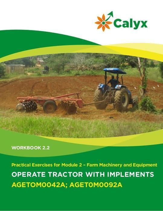 Operate Tractor with Implements