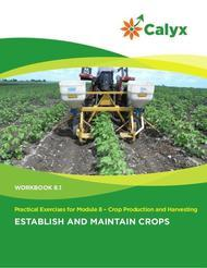 Establish and Maintain Crops