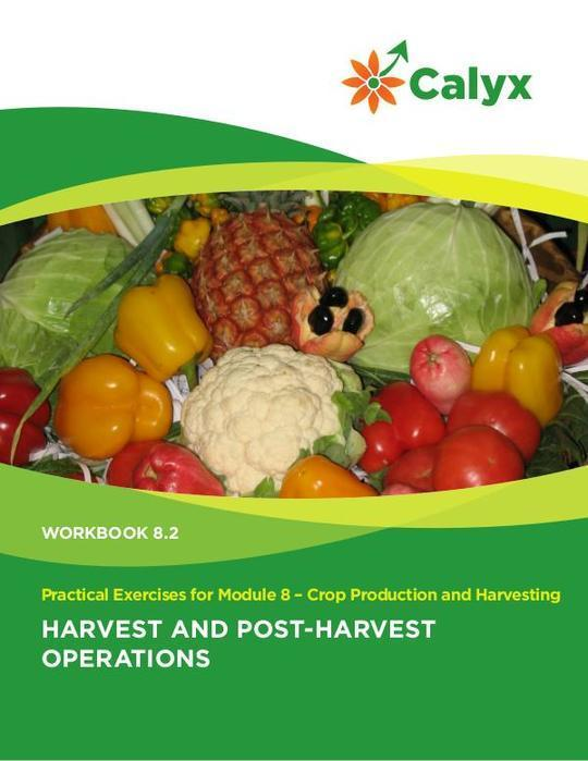 Harvest and Post-Harvest Operations