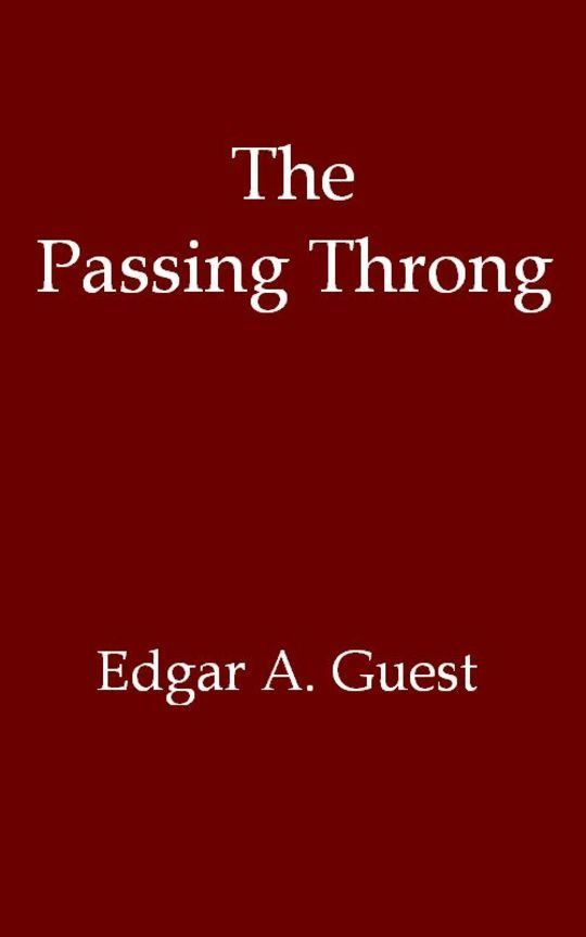 The Passing Throng