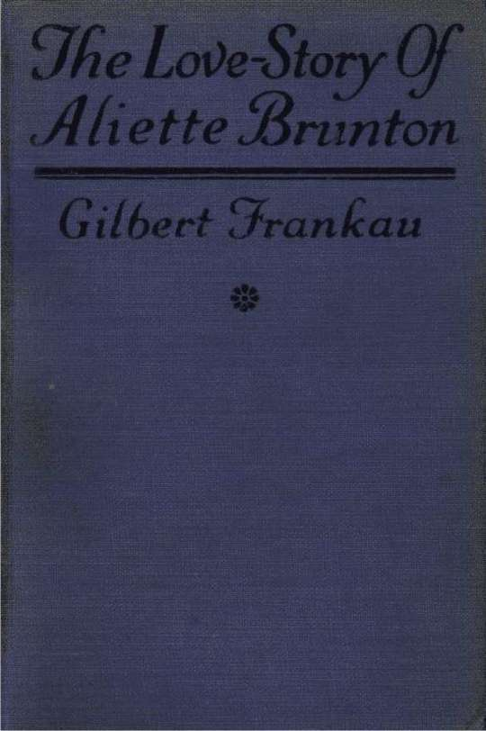 The Love Story of Aliette Brunton