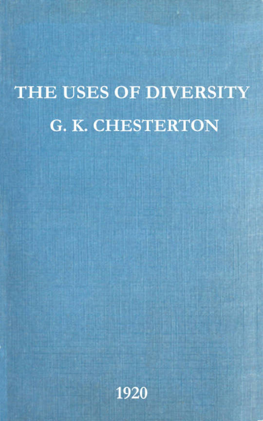 The Uses of Diversity A book of essays