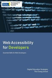 Web Accessibility for Developers