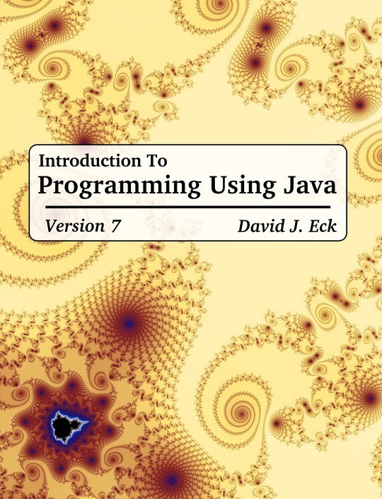Introduction to Programming Using Java, Version 7
