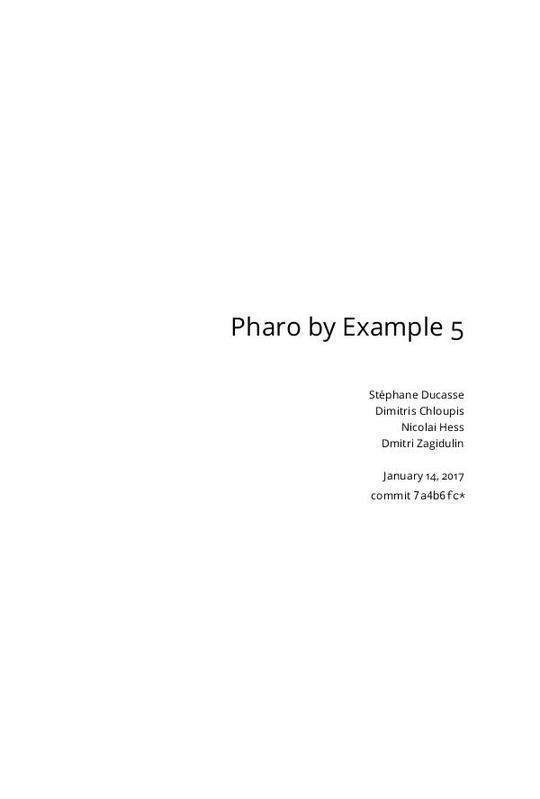 Pharo by Example 5