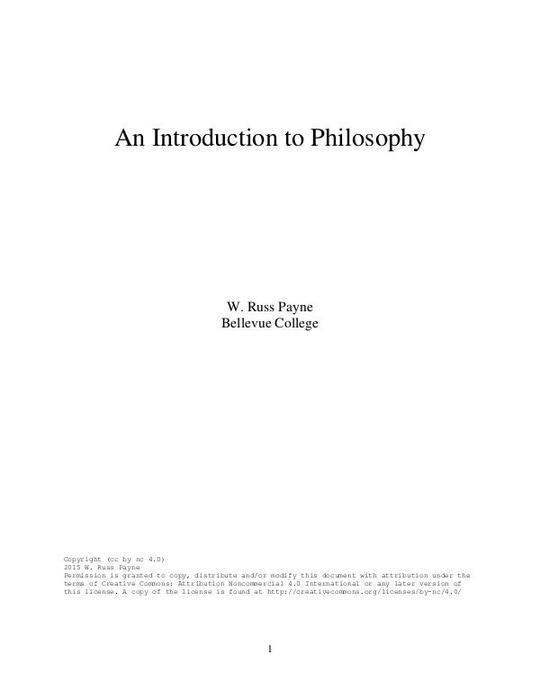 IntroductionToPhilosophy