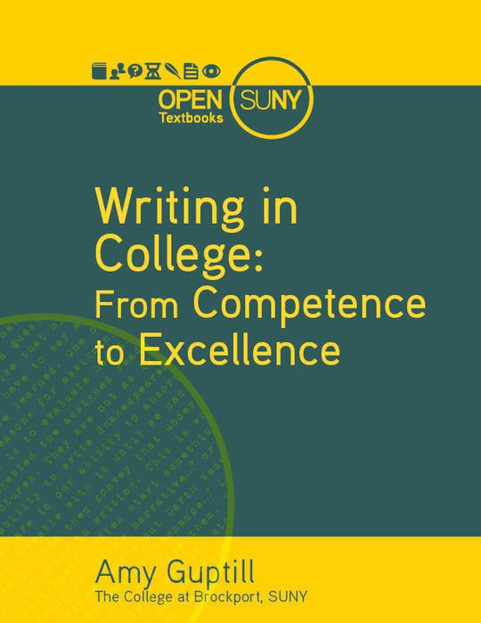 Writing in College: From Competance to Excellence