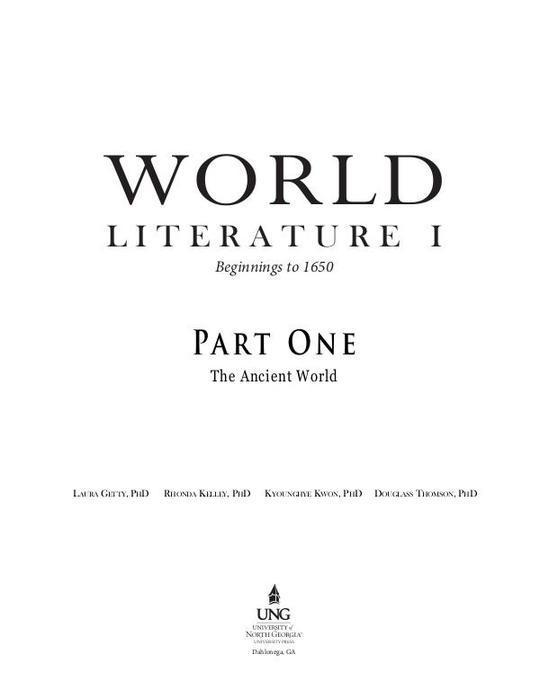 World-Lit-Part-1