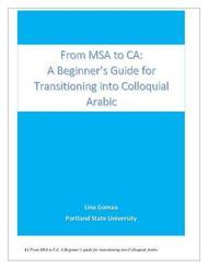 Microsoft Word - From MSA to CA A Beginner's guide by Lina Gomaa dec 30.docx