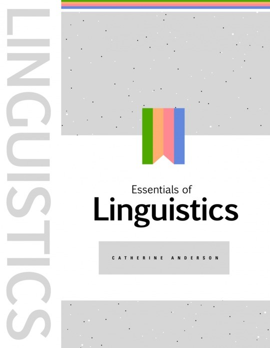 Essentials of Linguistics