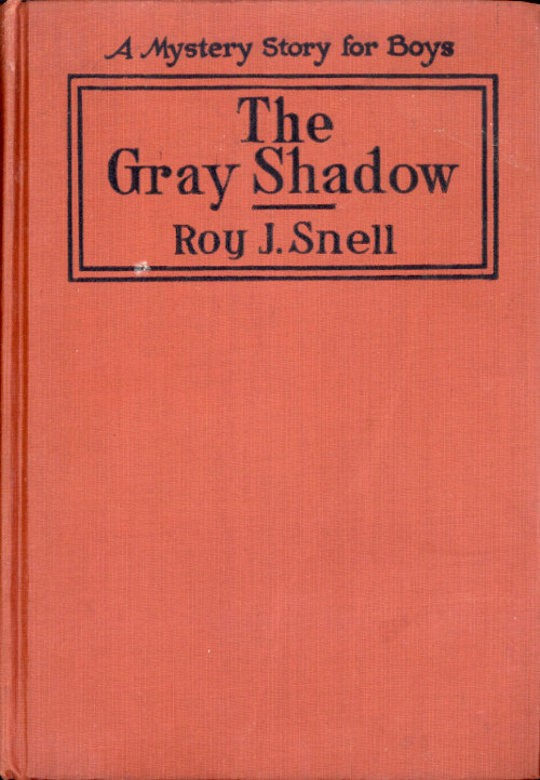 The Gray Shadow A Mystery Story For Boys