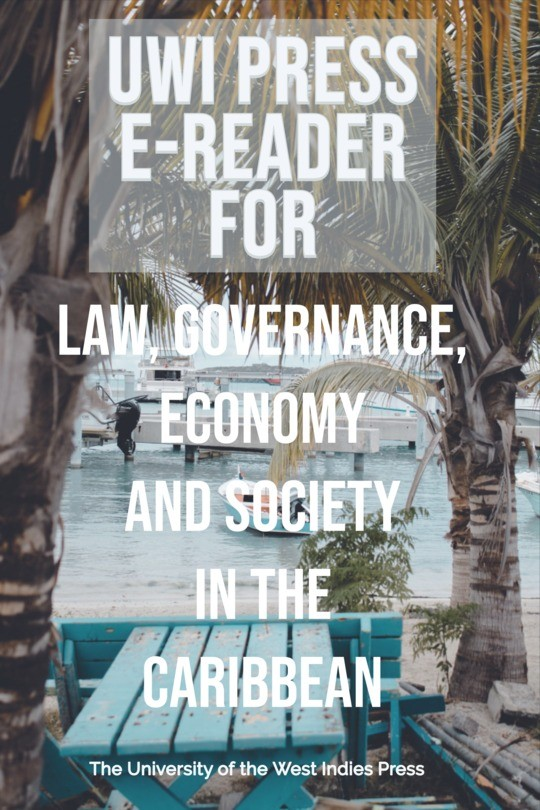 Law, Governance, Economy and Society in the Caribbean