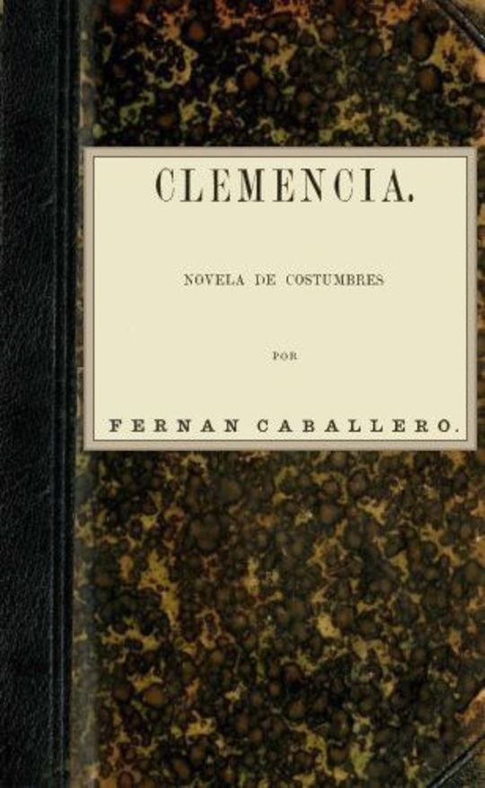 Clemencia Novela de costumbres