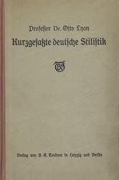 Kurzgefaßte Deutsche Stilistik