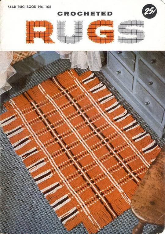 Crocheted Rugs: Star Book No. 106