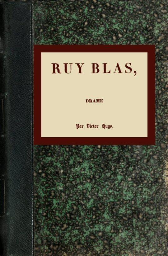 Ruy Blas: Drame