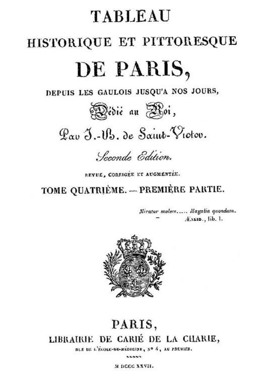 Tableau historique et pittoresque de Paris depuis les Gaulois jusqu'à nos jours (Volume 7/8)