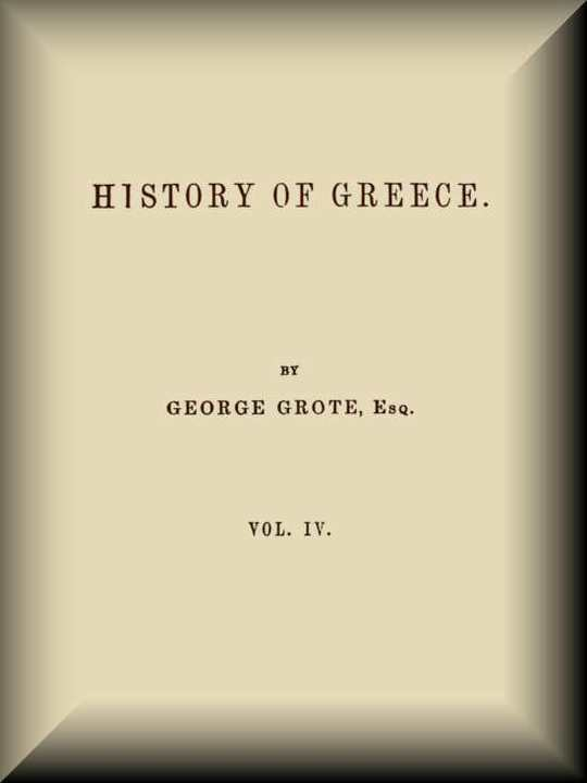 History of Greece, Volume 04 (of 12)