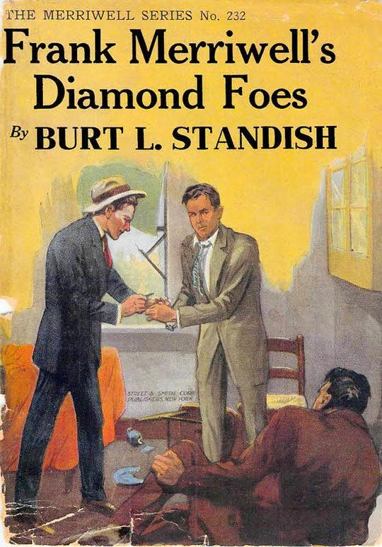 Frank Merriwell's Diamond Foes Straight Over The Plate