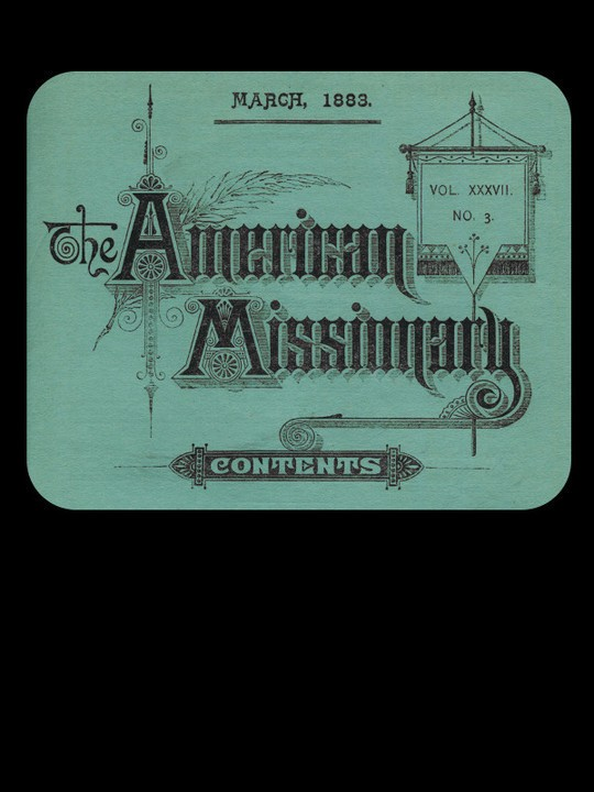 The American Missionary — Volume 37, No. 3, March, 1883