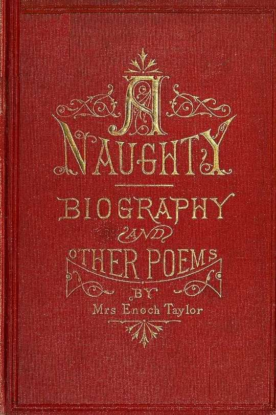 A-Naughty-Biography and other poems