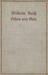 Schein und Sein Nachgelassene Gedichte