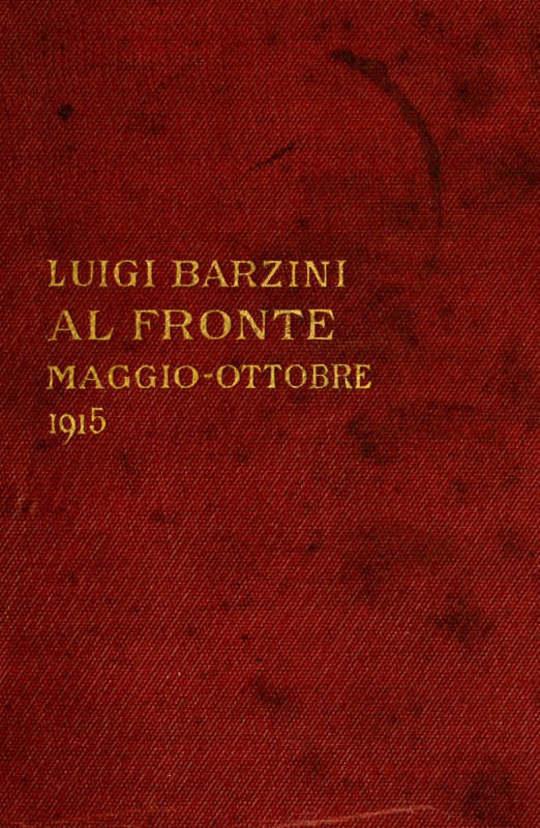 Al fronte (maggio-ottobre 1915)