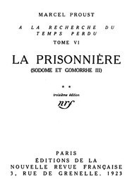 La Prisonnière (Sodome et Gomorrhe III)